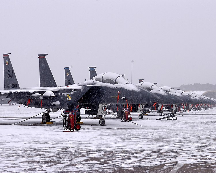 File:US Air Force 090120-F-6561S-001 F-15E's snowed in.jpg