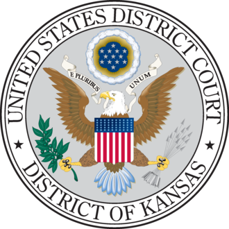 United States District Court for the District of Kansas - Image: US District Court for Kansas seal