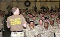 US Navy 070319-N-4034B-015 Chief of Navy Reserve, Vice Adm. John G. Cotton addresses Navy Customs Battalion Sierra wearing a Navy customs t-shirt.jpg