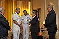 US Navy 110812-N-ZB612-105 Chief of Naval Operations (CNO) Adm. Gary Roughead, left, and Chief of the Brazilian Navy Staff Adm. Mauro Neto speak wi.jpg