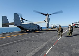 US Navy 120130-N-OR551-008 An aircraft prepares to launch from the flight deck.jpg