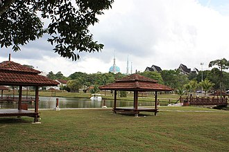 University of Technology, Malaysia - Image: UTM lake