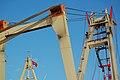 Uglen Bergen Norway Crane Detail 2009 2.JPG