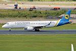 Ukraine International Airlines, UR-EMC, Embraer ERJ-190LR (28369131064).jpg