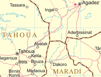Abalak - Image: Un niger Abalak area