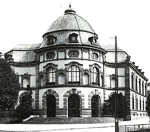 Basel University Library -  Basel University Library in 1896