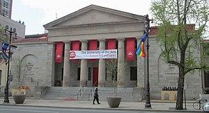 University of the Arts (Philadelphia) - The Dorrance Hamilton Hall in 2013
