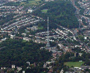 Upper Norwood - Image: Upper Norwood from Aeroplane
