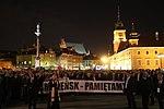 Uroczystości 8. rocznicy tragedii pod Smoleńskiem Smoleńsk Pamiętamy baner.jpg