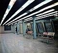 Vörösmarty tér, a Millenniumi Földalatti Vasút végállomása. Fortepan 99208.jpg