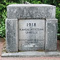 V. 1918 kaatuneitten punaisten muistomerkki, Hautausmaa 1922.jpg