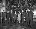 V.l.n.r.. Fayat, Schaus, Spaak, Couve de Murville, Piccioni, koningin Juliana, S, Bestanddeelnr 915-6735.jpg