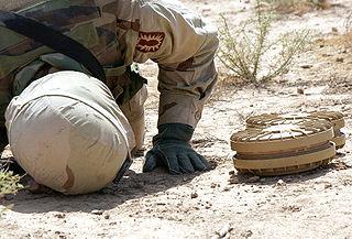 Blast resistant mine