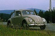 VW 1300, Modell 1966, im Harz 1973