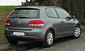 VW Golf (VI) rear 20110115.jpg