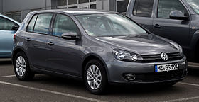 VW Golf 1.2 TSI Move (VI) – Frontansicht, 25. August 2012, Velbert.jpg