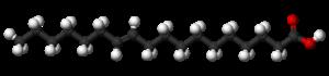 Vaccenic acid - Image: Vaccenic acid 3D balls