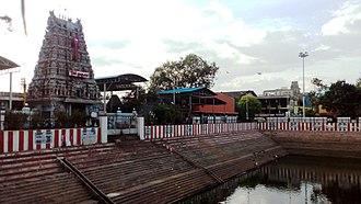 Vadapalani - Image: Vadapalani murugan temple