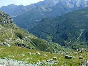 Das Arnas-Tal bei Usseglio
