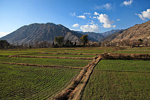 Kunar Valley - Image: Valley in Kunar 2012