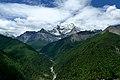 Valley near sacred mountain Xiannairi Yading Biosphere Reserve.jpg