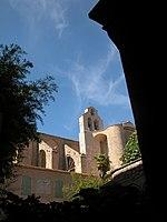 Valmagne abbaye exterieur eglise