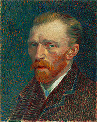 Van Gogh's Self-portrait - 1887