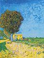 Van Gogh - Allee bei Arles mit Häusern.jpeg