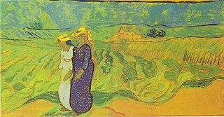 Women Crossing the Fields