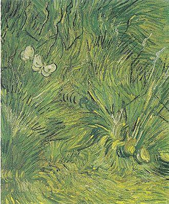 Butterflies (Van Gogh series) - Image: Van Gogh Zwei weiße Schmetterlinge