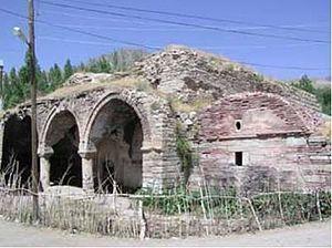 Varagavank - The monastery's remains in 2005
