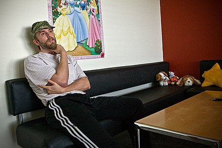Vikernes serving his last year in prison, 2009 Varg Vikernes-4.jpg