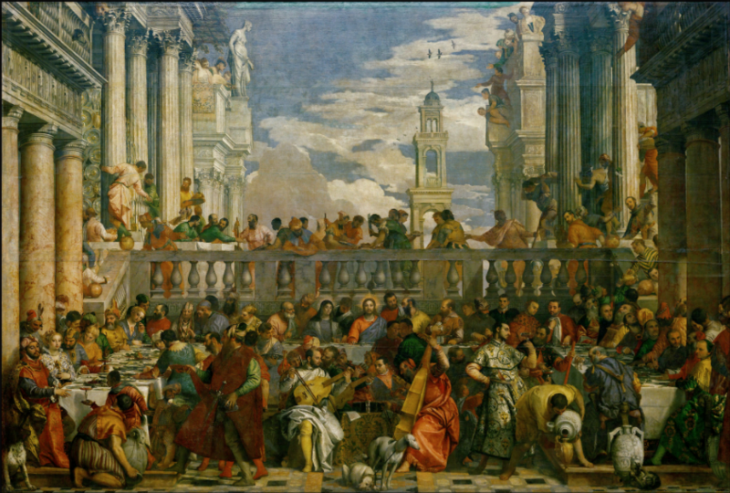 File:Veronese-Marriage at Cana-Louvre.tiff