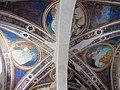 Via angelica, cappella di s. pietro martire, volta con evangelisti dell'inizio del xv sec. 01.JPG