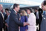 Vice President Bush arrives Hartford, CT 24 Mar 88.jpg