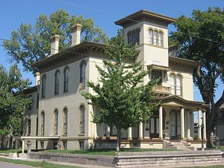 Mansion Row Historic District United States historic place
