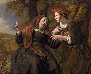 Jan Victors - Ruth swearing to Naomi, 1653