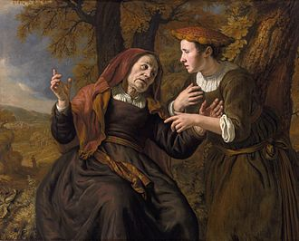 Naomi (biblical figure) - Ruth swearing to Naomi by Jan Victors, 1653