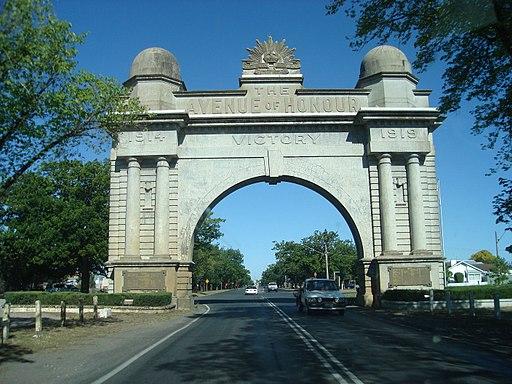 Victory Arch Ballarat - panoramio
