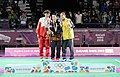 Victory Ceremony Girls Singles Badminton 2018 YOG (51).jpeg