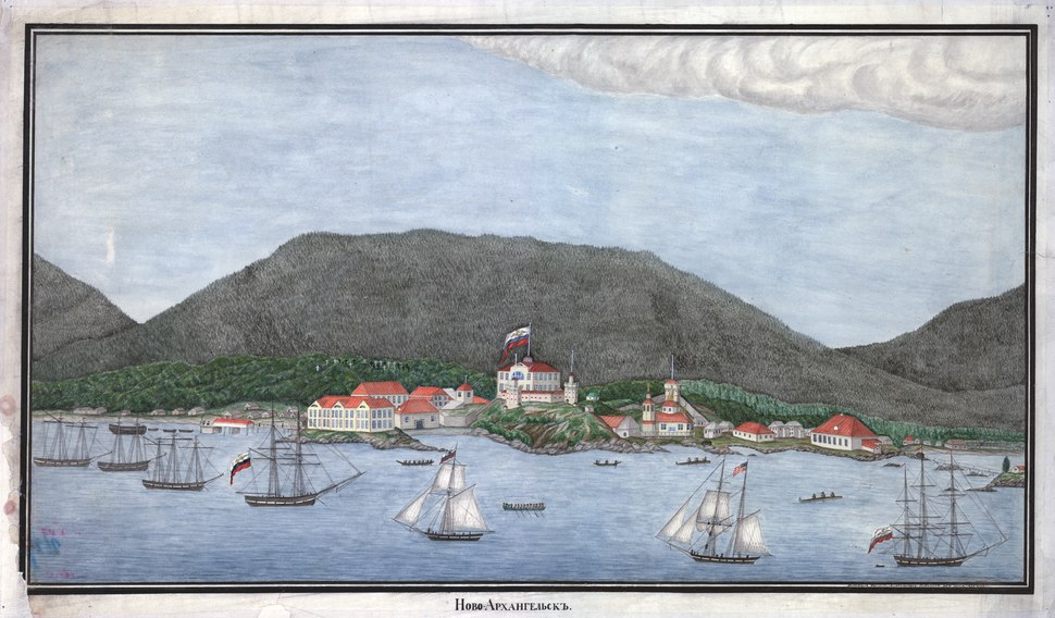View of New Archangel, 1837