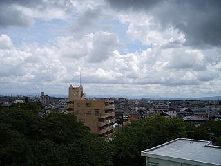 Takahama, Aichi City in Chūbu, Japan