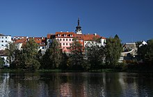 View to Písek from Otava River (1).JPG