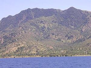 Atauro Island - View of Manucoco above Vila village