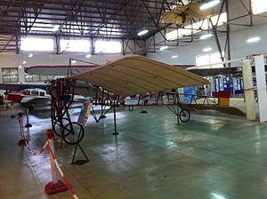 Museo del Aire (Madrid) - Image: Vilanova Acedo (Blériot XI)
