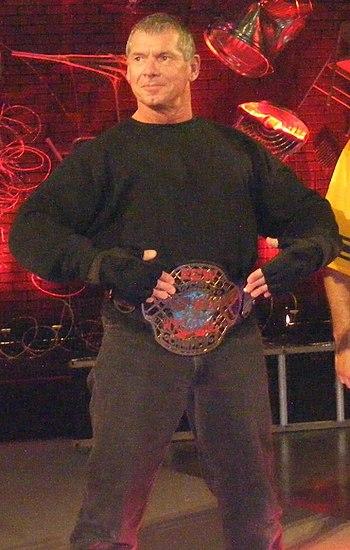 Vince McMahon - ECW Champion