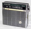 Vintage Zenith Royal 500N 8-Transistor Radio, Made In USA, Circa 1965 (14608664469).jpg
