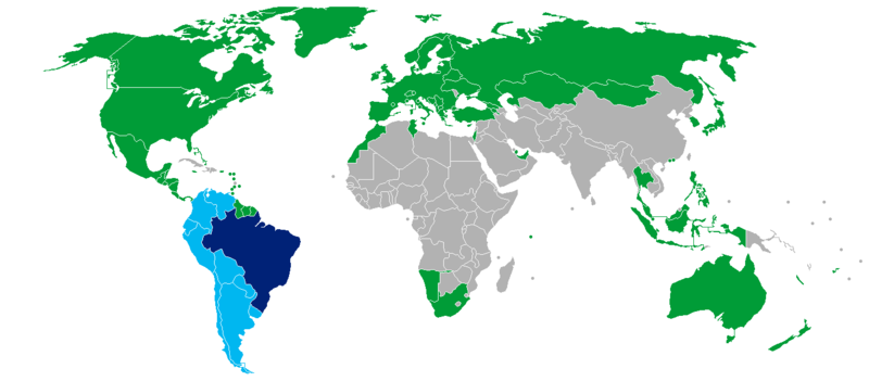 Visa policy of Brazil - Wikipedia