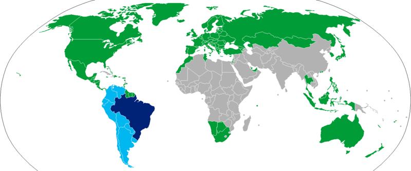 Visa policy of Brazil  Wikipedia