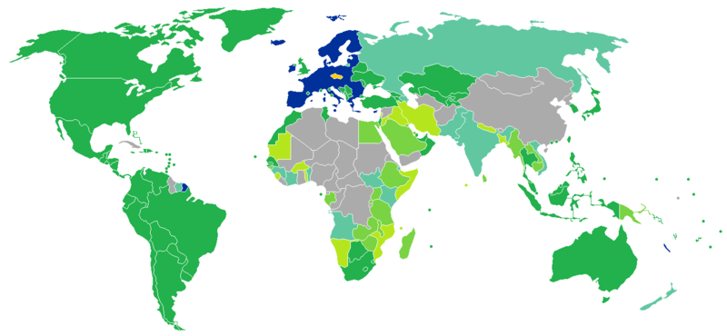 Visa requirements for Czech citizens.png